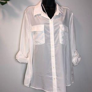Old Navy blouse for women light cream size: XL